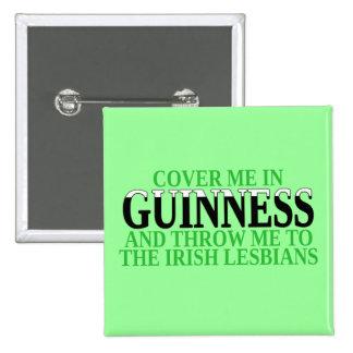 Irlandés Pin Cuadrada 5 Cm