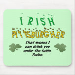 Irlandés Pittsburgher Tapete De Ratones