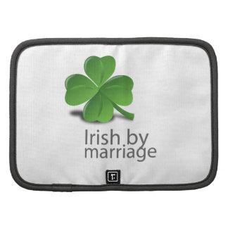 Irlandés por diseño de la boda organizador
