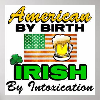 ¡Irlandés por la intoxicación! Impresiones