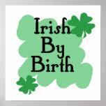 Irlandés por nacimiento impresiones