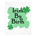 Irlandés por nacimiento invitación