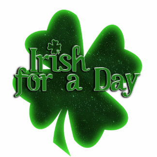 Irlandés por un día fotoescultura vertical