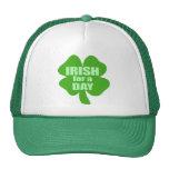 Irlandés por un día gorra