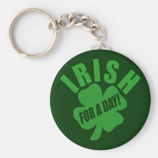 ¡Irlandés por un día! Llaveros Personalizados