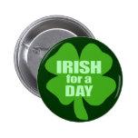 Irlandés por un día pin