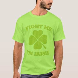 Irlandés que lucha playera
