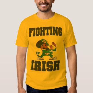 irlandés que lucha polera