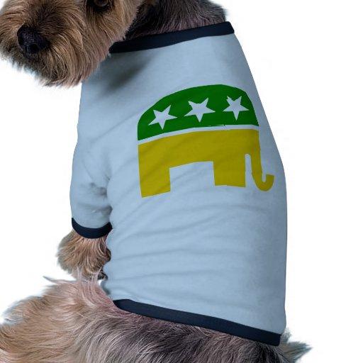 Irlandés Republician Camiseta Con Mangas Para Perro