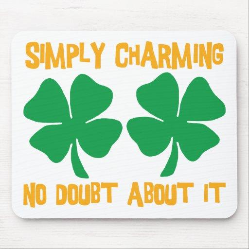 Irlandés - simplemente no encantando ninguna duda  mouse pads