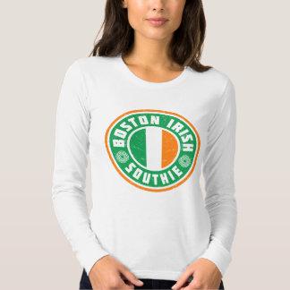 Irlandés Southie de Boston Polera