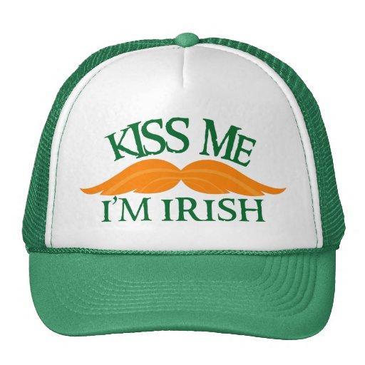 Irlandés-Stache Gorras