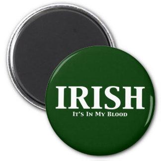 Irlandés sus adentro mis regalos de la sangre imanes