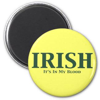 Irlandés sus adentro mis regalos de la sangre imanes de nevera