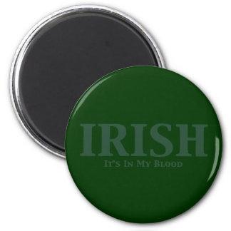 Irlandés sus adentro mis regalos de la sangre imán de frigorífico