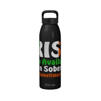 Irlandés también disponible en sobrio botella de beber