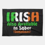 Irlandés también disponible en sobrio toallas de cocina