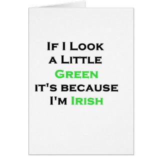 Irlandés Felicitación