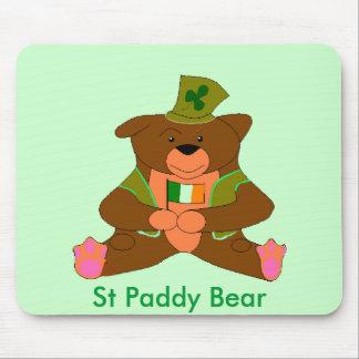 irlandés ted, oso del arroz del St Alfombrillas De Ratones