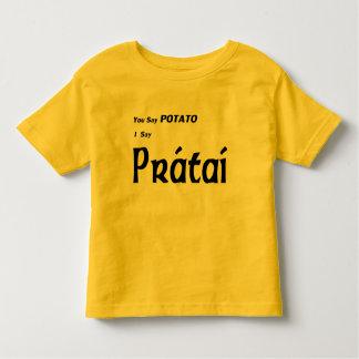 "Irlandés ""usted dice la patata "" camiseta"
