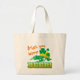 Irlandés usted era cerveza bolsa de mano
