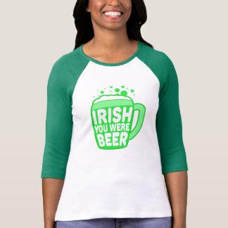 Irlandés usted era cerveza camisas