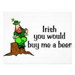 Irlandés usted me compraría un Leprechaun de la ce Invitaciones Personales
