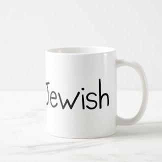 Irlandés y judío taza de café