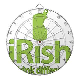 irlandeses… ¡Bebida diferente Tabla Dardos