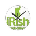 irlandeses… ¡Bebida diferente! Reloj