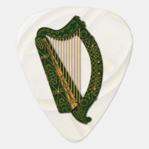Irland's Coat Of Arms Harp -Guitar Pic Guitar Pick