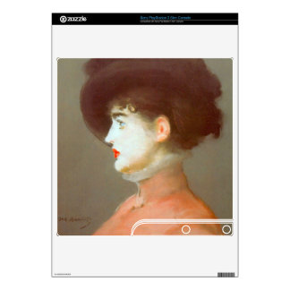 Irma Brunne by Edouard Manet Decal For The PS3 Slim