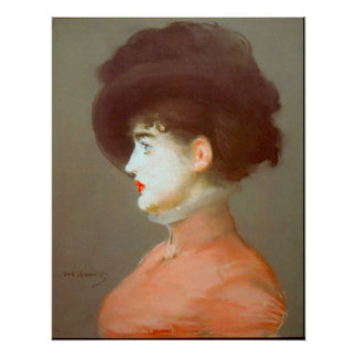 Irma Brunne by Edouard Manet Print