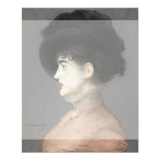 Irma Brunner by Edouard Manet Flyer