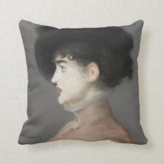 Irma Brunner by Edouard Manet Pillow