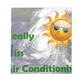 IRMA- I Really Miss Air Conditioning Notepad