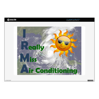 """IRMA- I Really Miss Air Conditioning Skins For 15"""" Laptops"""