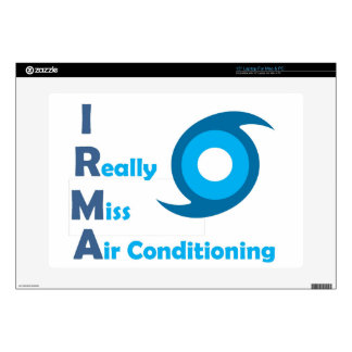 IRMA = I really miss Air Conditioning! Skins For Laptops
