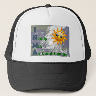 IRMA- I Really Miss Air Conditioning Trucker Hat