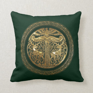 Irminsul Asatru Motif Throw Pillow