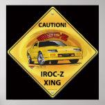 IROC84-2Black Posters