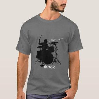iRock drummer tee