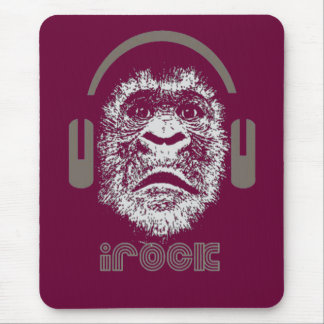 irock Gorilla Music Mouse Pad