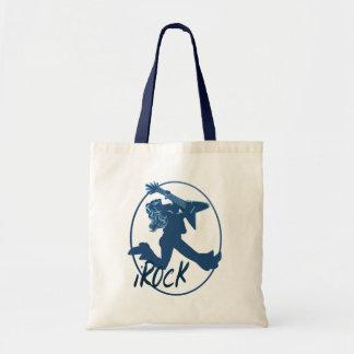 iROCK lettered Circle  Bag