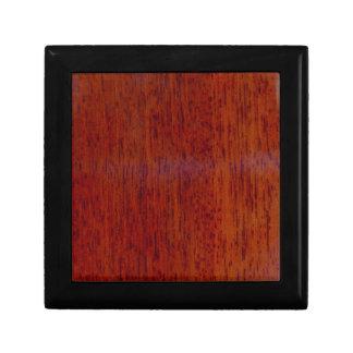 Iroko wood keepsake box