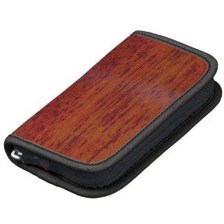 Iroko wood texture organizer