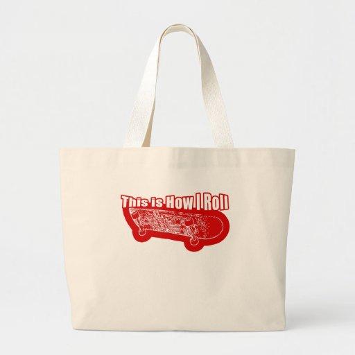 IRoll2 Jumbo Tote Bag