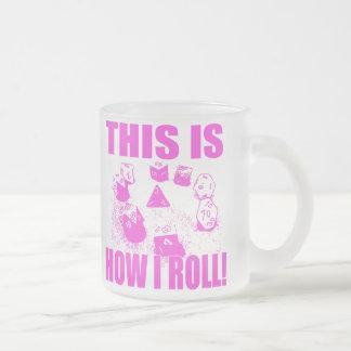 IROLL3 FROSTED GLASS COFFEE MUG