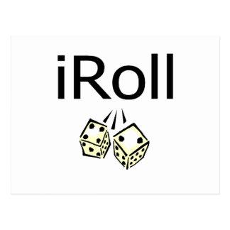 iRoll Postcard