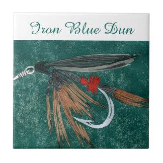 """""""Iron Blue Dun"""" wet fly tile. Tile"""